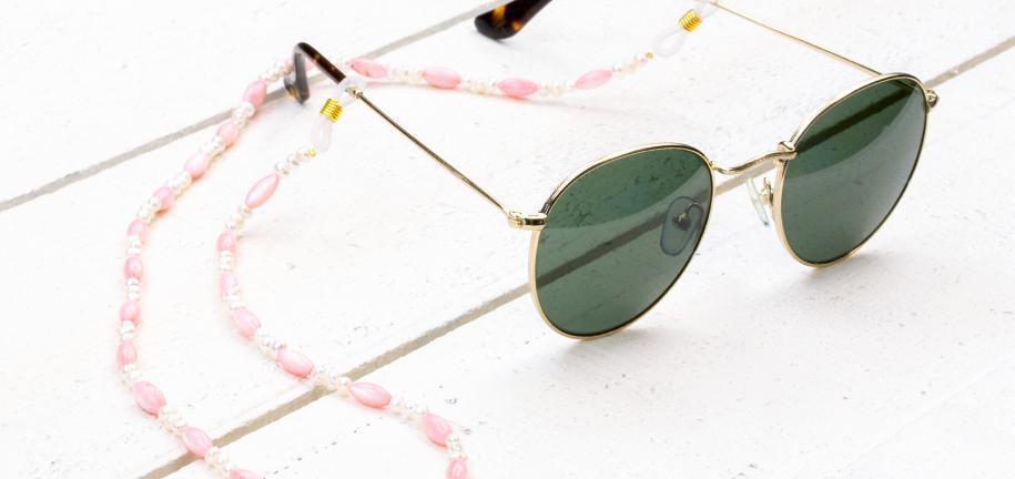 DIY: Zonnebrillen koord maken