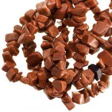Natuursteen Chips Goldstone (5 - 8 mm) 200 stuks