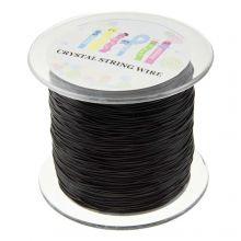 Top Kwaliteit Elastiek (1 mm) Black (100 Meter)