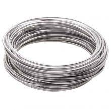Aluminium Wire (1.5 mm) Zilver (10 Meter)
