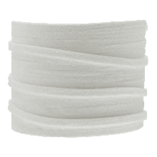 Faux Suede Veter (3 mm) White (5 Meter)
