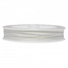 Nylon Koord (0.6 mm) White (25 Meter)