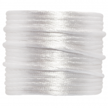 Satijnkoord (1.5 mm) White (15 Meter)