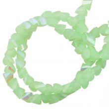 Glaskralen AB Electroplated (3 x 2 mm) Pale Green (148 Stuks)