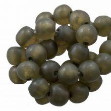 Resin Kralen (8 - 9 mm) Moss Green (20 Stuks)