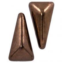 Vexolo® DQ Glaskralen (5 x 8 mm) Jet Gold (20 stuks)