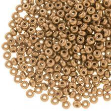 DQ Rocailles (2 mm) Golden Sand (10 Gram / 1000 stuks)