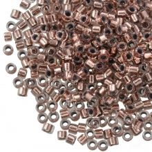 Miyuki Delica (11/0 mm) Copper Lined Crystal (10 Gram)