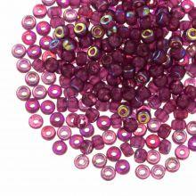 DQ Rocailles (3 mm) Mulberry Purple AB (25 Gram / 600 stuks)