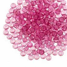 DQ Rocailles (4 mm) Candy Pink (25 Gram / 350 stuks)