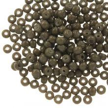 DQ Rocailles (4 mm) Moss Brown (25 Gram / 350 stuks)