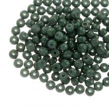 DQ Rocailles (4 mm) Green Teal (25 Gram / 350 stuks)