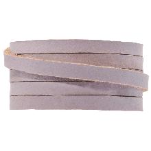 DQ Plat Leer (5 x 2 mm) Lilac (1 Meter)