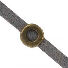 Schuiver (Binnenmaat 3 x 2 mm) Brons (10 Stuks)