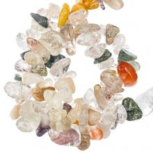 Natuursteen Chips  Rutilated Quartz (5 - 10 mm) 180 stuks