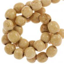 Bone Kralen (6 mm) Brown (66 stuks)