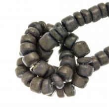 Kokos Kralen (4 - 5 mm) Grey Taupe (110 Stuks)