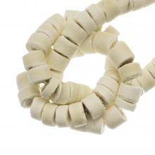 Kokos Kralen (4 - 5 mm) Blanched Almond (120 Stuks)