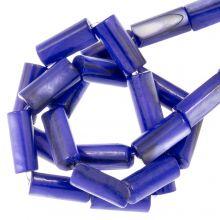 Gekleurde Schelp Kralen (10 x 4 mm) Blue (36 Stuks)