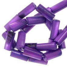 Gekleurde Schelp Kralen (10 x 4 mm) Violet (36 Stuks)