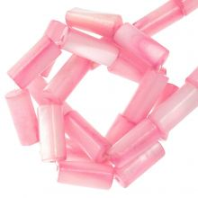 Gekleurde Schelp Kralen (10 x 4 mm) Pink (36 Stuks)