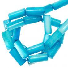 Gekleurde Schelp Kralen (10 x 4 mm) Sky Blue (36 Stuks)