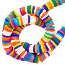 Polymeer Kralen (6 x 1 mm) Mix Color Bright (300 Stuks)