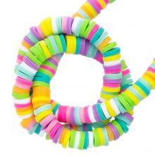 Polymeer Kralen (4 x 1 mm) Mix Color Happy (300 Stuks)