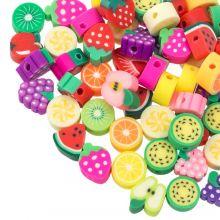 Kralenmix - Polymeer Kralen Fruit (Diverse maten) Mix Color (60 stuks)