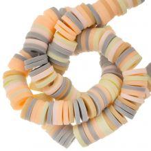 Polymeer Kralen (6 x 1 mm) Mix Color Vanilla (300 Stuks)