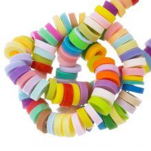 Polymeer Kralen (4 x 1 mm) Mix Color Bright (300 Stuks)