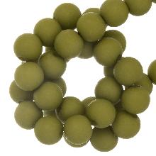 Acryl Kralen Mat (8 mm) Pistachio (200 stuks)