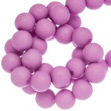 Acryl Kralen Mat (8 mm) Candy Pink (180 stuks)