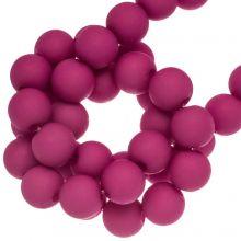 Acryl Kralen Mat (6 mm) Hot Pink (490 stuks)