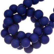 Acryl Kralen Mat (8 mm) Blue Grape (180 stuks)