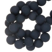 Acryl Kralen Mat (8 mm) Jeans Blue (200 stuks)