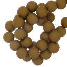 Acryl Kralen Mat (8 mm) Olive Green (200 stuks)
