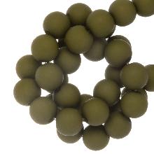 Acryl Kralen Mat (8 mm) Pea Green (200 stuks)