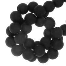 Acryl Kralen Mat (8 mm) Black (180 stuks)
