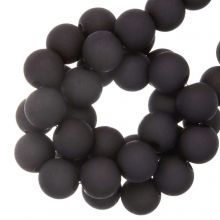Acryl Kralen Mat (8 mm) Dark Grape (200 stuks)