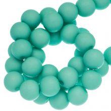 Acryl Kralen Mat (8 mm) Bright Mint Blue (200 stuks)