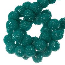 Acryl Kralen Rhinestone (6 mm) Malachite (30 Stuks)