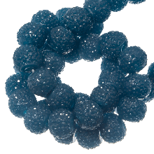 Acryl Kralen Rhinestone (4 mm) Cobalt Blue (45 Stuks)