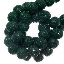 Acryl Kralen Rhinestone (4 mm) Pine Green (45 Stuks)
