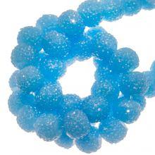 Acryl Kralen Rhinestone (4 mm) Water Blue (45 Stuks)