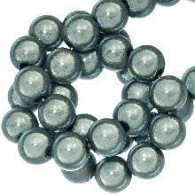 3D Kralen (6 mm) Dark Mint Blue (225 stuks)