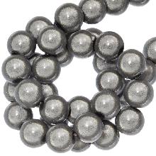 3D Kralen (8 mm) Cool Grey (90 stuks)