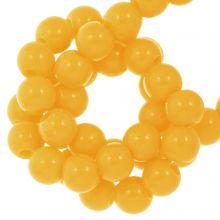 Acryl Kralen (6 mm) Sunrise Yellow (100 stuks)