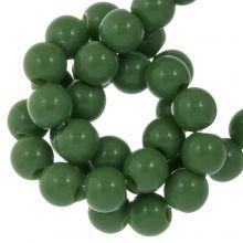 Acryl Kralen (6 mm) Forest Green (100 stuks)