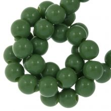 Acryl Kralen (4 mm) Forest Green (500 stuks)